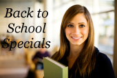 Back-to-School Specials