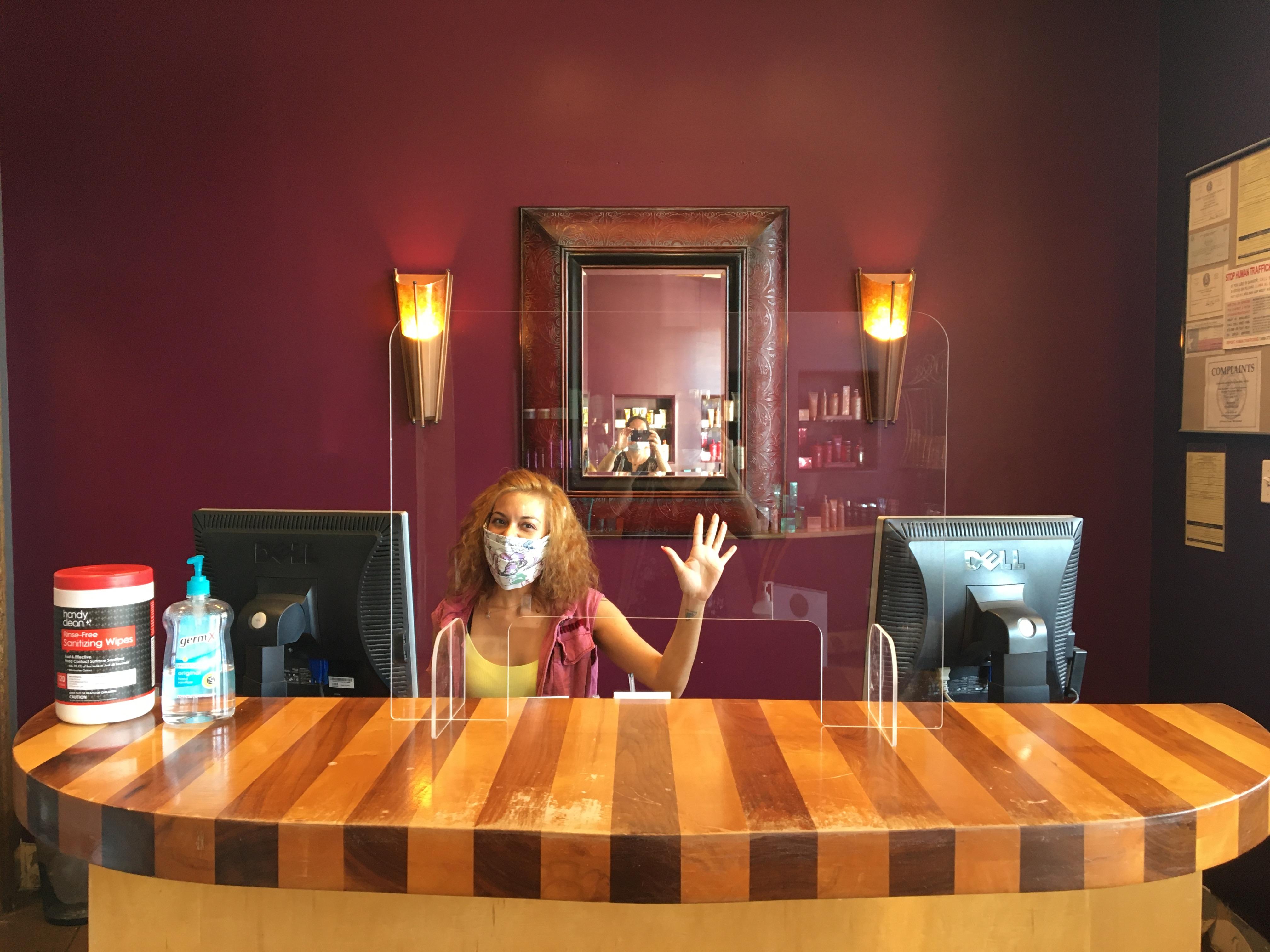 Covid - Front Desk